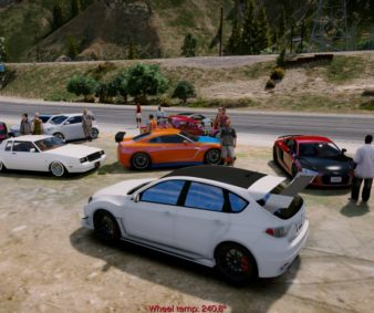 GTA5 drag racing meet