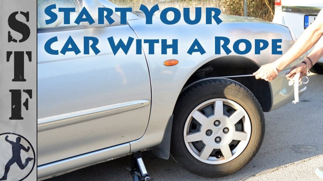 start your car with dead battery