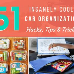 51 Insanely Awesome Car Organization Hacks, Tips & Tricks (2019)