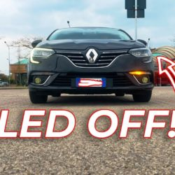 Megane Led Light Fade Off with Turn Indicator - DDT4ALL Tutorial