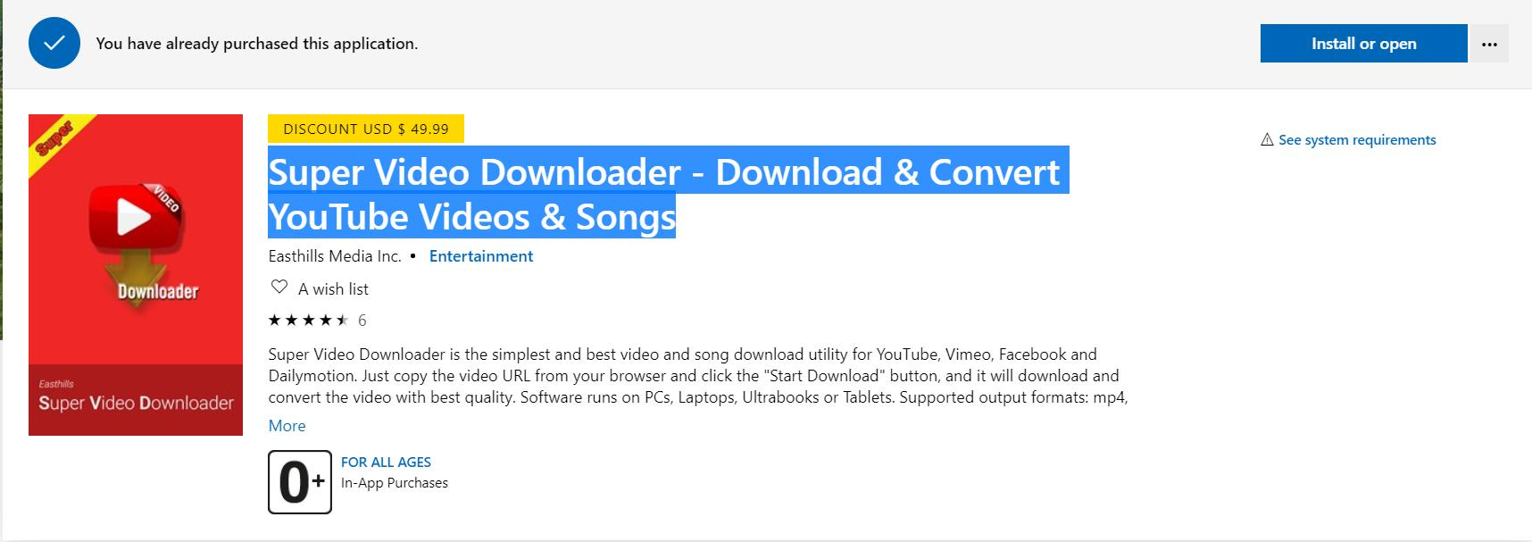 Super Video Downloader - Download & Convert YouTube Videos & Songs